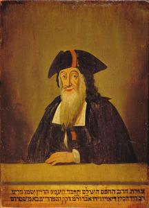 Portret van David Cohen d'Azevedo ( -1792)