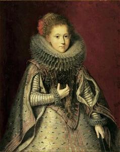 Portret van Maria Elisabteh Clara van den Bergh (1610-1633)