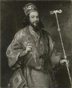 Portret van aartsbisschop Neofilo Vidola, metropolitaan van Philipopel