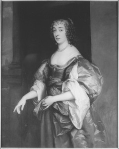 Portret van Dorothy Sidney, Lady Spencer, later Countess of Sunderland (1617-1684)