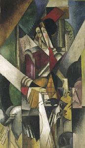 La dame aux bêtes (Madame Raymond Duchamp-Villon)
