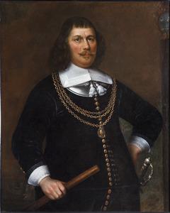 Portret van vice-admiraal Pieter Florisz. (1605-1658)
