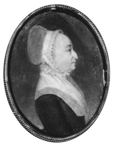 Portret van Maria Prins (1742-1815)