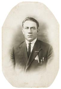Portret van Hendrik van de Graaf (1885-1970)