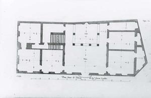 Palazzo Lomellini Patrone: Grondplan
