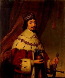 Portret van Frederik V keurvorst van de Palts (1596-1632)
