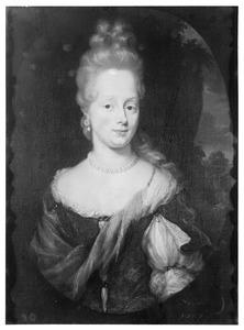 Portret van Elisabeth Thiellens ( -1724)