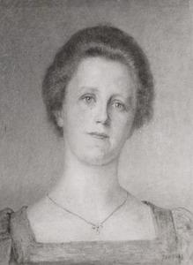 Portret van Emilie van Kerckhoff (1867-1960)
