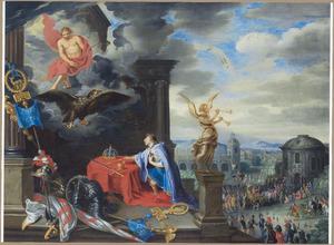 Allegorie op het keizerschap van het Heilige Duits Rijk