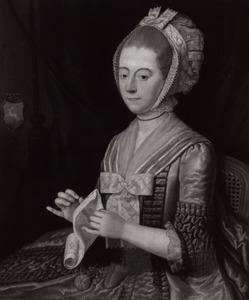 Portret van Jacoba van der Kaag (1744-1822)
