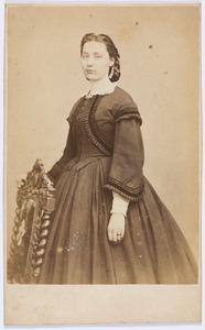 Portret van een vrouw, mogelijk Clementine Susanna Francisca de Both (1834-1921)