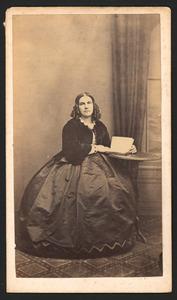 Portret van Elizabeth Anna Carkeet (1828-1890)