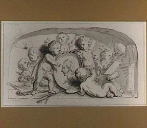 Allegorie op de schilder- en tekenkunst