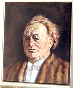 Portret van Willem Mengelberg (1871-1951)
