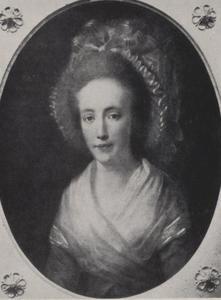 Portret van Wilhelmina van Haar (1752-1810)