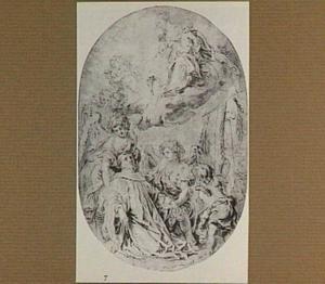 Visioen van de Heilige Bernard van Clairveaux