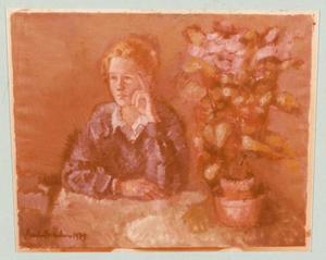 Portret van Jeanne Niesten