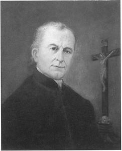 Portret van Joannes Mathias IJzermans (1815-1894)