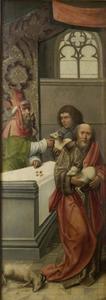 Het offer van Joachim wordt geweigerd