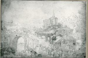 De slag op de Milvius brug