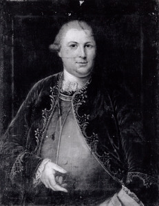 Portret van Frederik Benjamin van der Capellen (1739-1806)