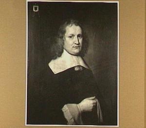 Portret van Cornelis van Erkel (1634- na 1699), echtgenoot van Anna van Steenborch (overleden 1668) en Cornelia de Backer