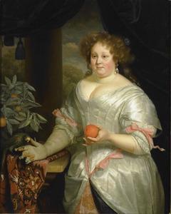 Portret van Elisabeth Talliarde (1654-1689)