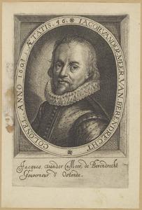 Portret van Jacob van der Meer van Berendrecht (....-1604)