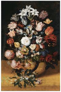 Stilleve nvan bloemen in een vaas