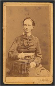 Portret van Christina Wilhelmina van Beresteyn (1827-1888)