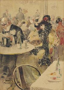Caféscène Parijs