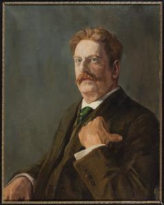 Portret van Hugo Laurens van den Wall Bake (1856-1909)