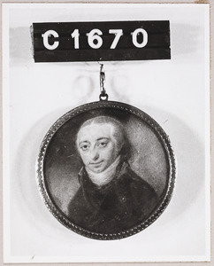 Portret van een man, mogelijk L.Dijk