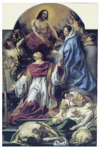 H. Carolus Borromeus als middelaar voor de pestlijders