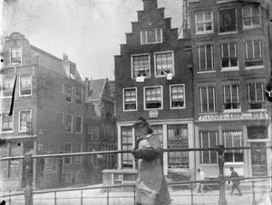 Gezicht op de Bloemgracht te Amsterdam