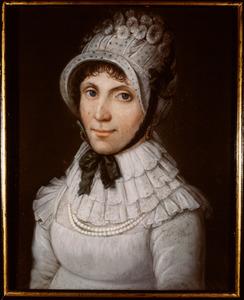Portret van Maria Geertruida Juvetta van Hoevell ( -1838)