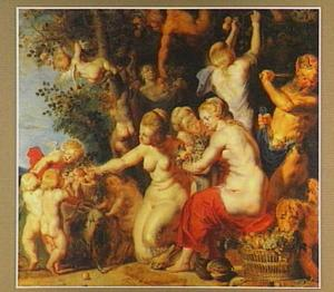 Allegorie op de Vruchtbaarheid: eerbetoon aan Pomona