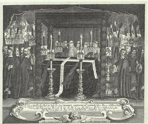 Het graf van Henrik Lindenov (1614-1653)