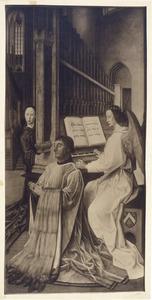 Edward Bonkil, proost van Trinity College Kirk en musicerende engelen
