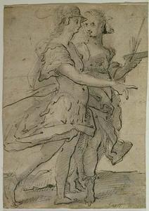 Minerva naast Pictura