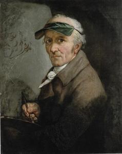 Zelfportret van Anton Graff (1736-1813)