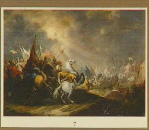 Sanherib verslagen door de engel des Heren (2 Koningen 19:35; Jesaja 37:36-37)