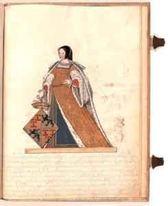 Portret van Elisabeth van Culemborg (1475-1555)