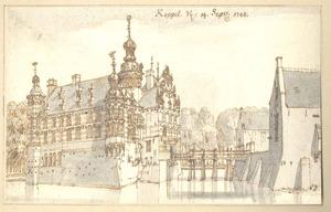 Slot Keppel voorzijden met voorgebouwen