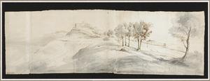 Landschap in de buurt van Castel Gandolfo