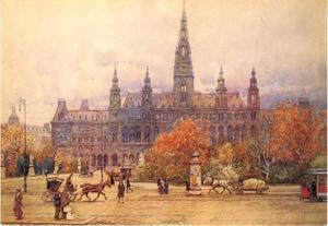 Het stadhuis in Wenen