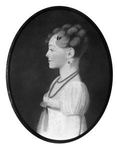 Portret van een vrouw, waarschijnlijk Catherine Isabelle Low (1783-1822)