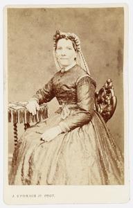 Portret van Georgina Aleyda Oosting (1822-1898)