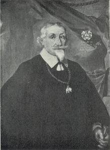 Portret van Christen Thomesen Sehested van Stougaard (1590-1657)