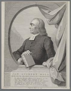 Portret van Jan Gijsbert Moll (1707-1767)